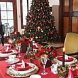 クリスマステーブルコーディネート